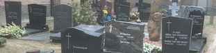 Uitvaartverzekering - grafstenen